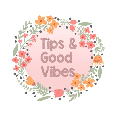 tips and good vibes blog wordpress logo